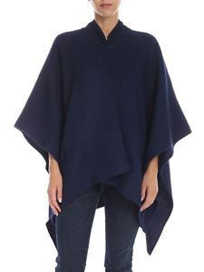 Max Mara Weekend - Dodo cape in blue