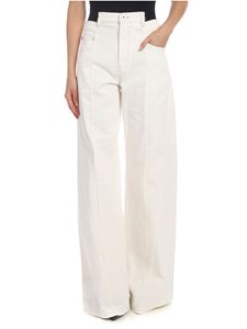 Maison Margiela - Palazzo trousers in crem color