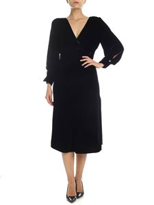 Iro - Cover dress in black