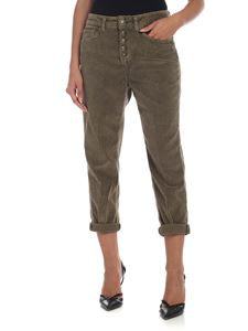 Dondup - Koons trousers in Army green