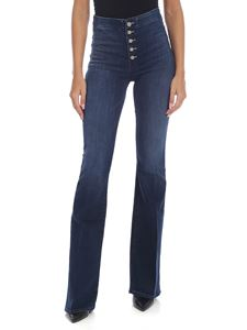 Mother - The Hollywood Pixie Cruiser jeans in blue