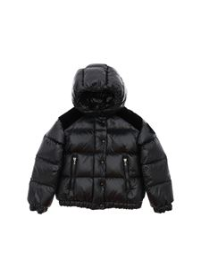Moncler Jr - Chouette quilted down jacket in black