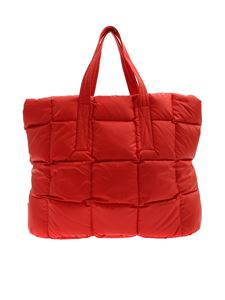 Aspesi - Red quilted bag