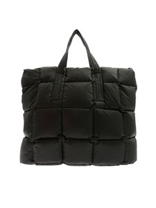 Aspesi - Quilted bag in black