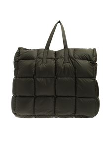 Aspesi - Army green quilted bag