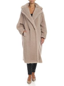 Max Mara - Tedgirl coat in Dove grey color