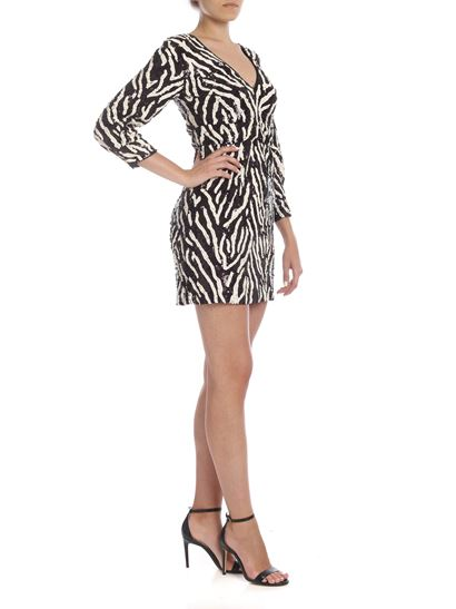 Pinko - Nuotare dress in black and white