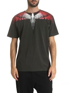 Marcelo Burlon - Red Wings T-shirt in green