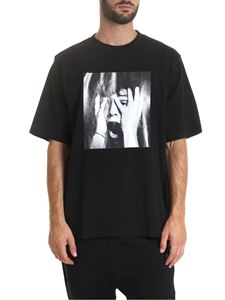 Marcelo Burlon - Black Scared Face T-shirt