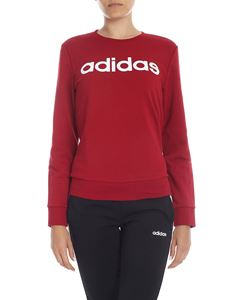 Adidas -  E Lin crewneck sweatshirt in dark red