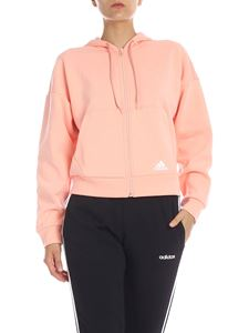 Adidas - Felpa rosa Must Have 3-Stripes