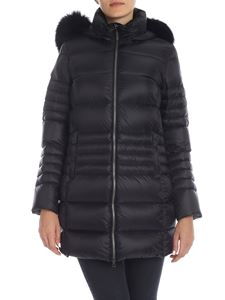 Colmar Originals - Place long down jacket in black