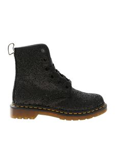 Dr. Martens - Farrah ankle boots with black glitter
