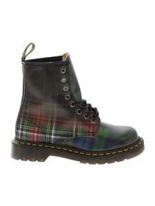 Dr. Martens - Tartan pattern ankle boots