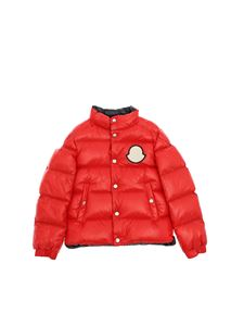 Moncler Jr - Piriac quilted down jacket in red
