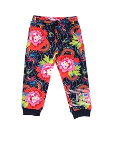 Kenzo - Muticolor fleece trousers