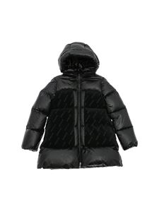 Moncler Jr - Ubayette quilted down jacket in black