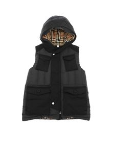 Burberry - Vincent padded waistcoat in anthracite color