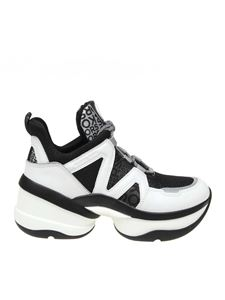 Michael Kors - Olympia Trainer sneakers in white and black