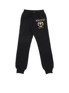 Moschino Kids - Roman Double Question black trousers