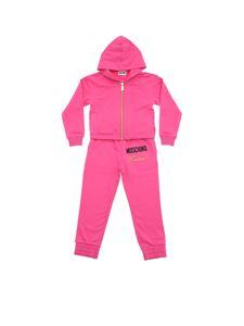 Moschino Kids - Fuchsia pink sweatshirt and trouser