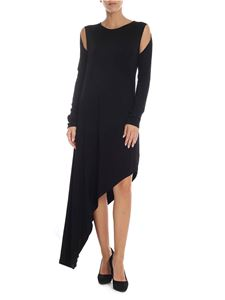 MM6 by Maison Martin Margiela - Black dress with cut-out