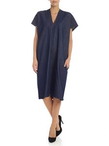 MM6 by Maison Martin Margiela - Blue dress in denim