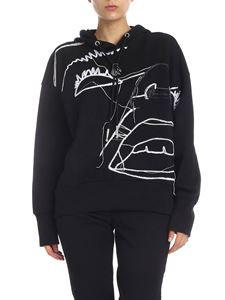 Diesel - Diesel Black Gold Mag sweatshirt in black