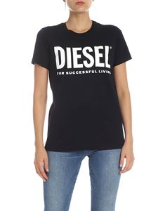 Diesel - Sily T-shirt in black