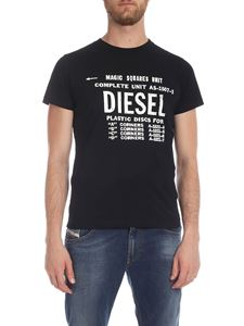Diesel - Diego B6 t-shirt in black