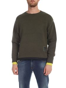 Diesel - K Pilot pullover in Army green color