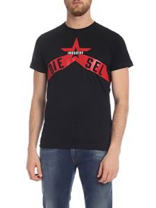 Diesel - Diego A7 T-shirt in black
