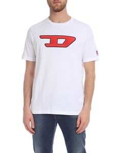 Diesel - Just Division T-shirt in white