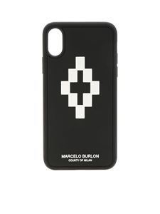 Marcelo Burlon - Cover 3D Cross nera e bianca