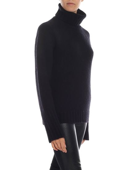 Philosophy di Lorenzo Serafini - Oversize turtleneck in black