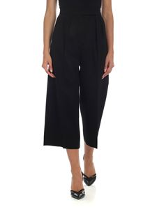 Max Mara - Peplo palace trousers in black