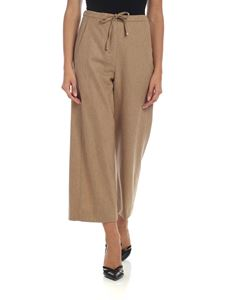 S Max Mara - Carena trousers in beige