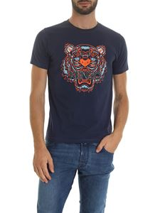 Kenzo - Classic Tiger t-shirt in blue