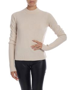 Max Mara - Matteo pullover in ivory color