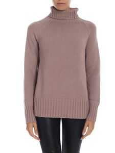 S Max Mara - Mantova turtleneck in antique pink