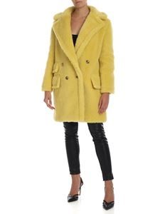 Max Mara - Adenia coat in yellow