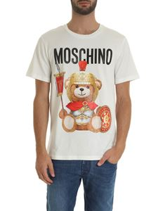 Moschino - Roman Teddy Bear T-shirt in white