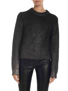 Dondup - Pullover in black and silver