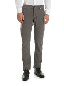 Jacob Cohën - Grey corduroy trousers