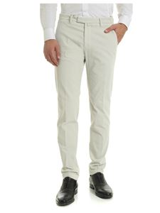 Briglia 1949 - Corduroy trousers in ice-color