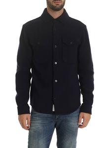 Woolrich - Blue wool shirt