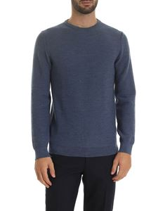 Zanone - Pullover in  Air Force blue color