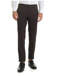 PT01 - Wool trousers in brown