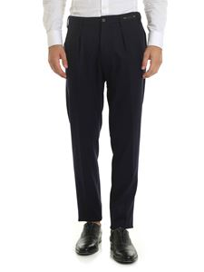 PT01 - Wool trousers in blue