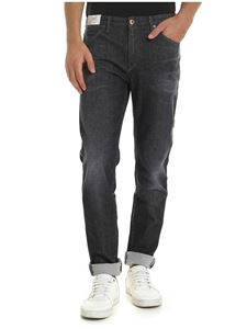 PT05 - Stretch cotton jeans in gray